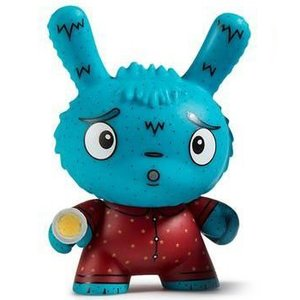 Kidrobot Arya Afraid of the Dark 1/24 - Scared Silly  Dunny series