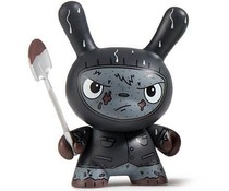 Cyrus Grave Digger (Black) 1/24 - Scared Silly  Dunny series