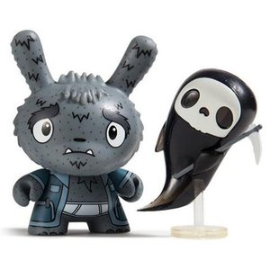 Kidrobot Grim Reaper Grampy 1/24 - Scared Silly  Dunny series