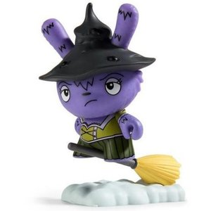 Kidrobot Which Witch Is Which (Purple) 2/24 - Scared Silly  Dunny series