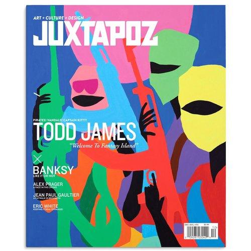 "Juxtapoz #155 (December 2013) Todd ""REAS"" James"