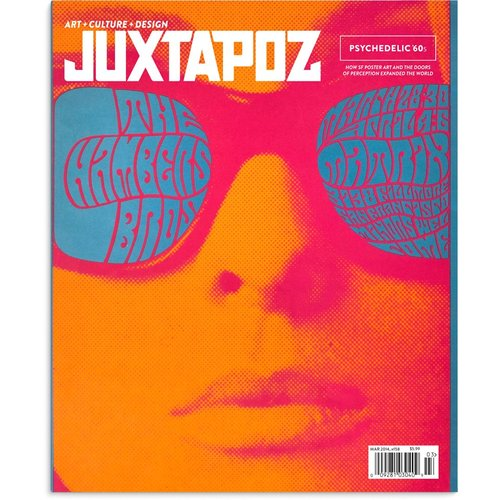 Juxtapoz #158 (March 2014) Psychedelic 60's