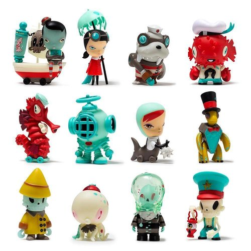 Kidrobot Dark Harbor Mini Series by Brandt Peters x Kathie Olivas - 1x Blindbox