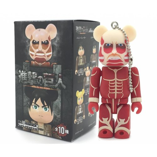 Medicom Toys Attack on Titan Bearbrick series - 1x Blindbox