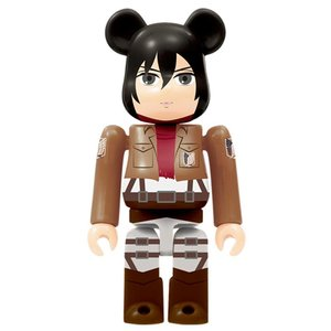 Medicom Toys Mikasa Bearbrick - Attack on Titan Bearbrick series