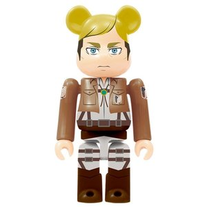 Medicom Toys Erwin Smith Bearbrick - Attack on Titan Bearbrick series