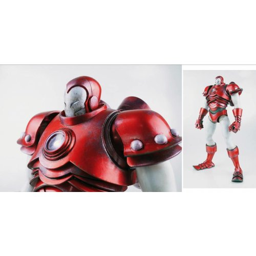3A Toys 1/6 Invincible Iron Man (Silver Centurion) by Ashley Wood