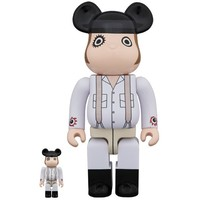 400% & 100% Bearbrick set - Alex (A Clockwork Orange)