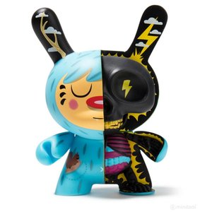 "Kidrobot 5"" Mr. Watt Half Ray Dunny by Johnny Draco"