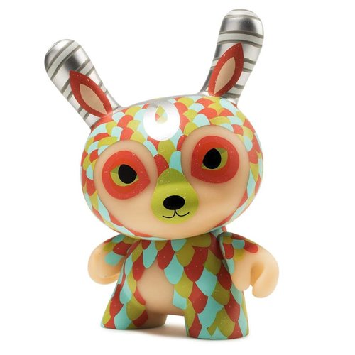 "Kidrobot 5"" Curly Horned Dunnylope by Horrible Adorables"