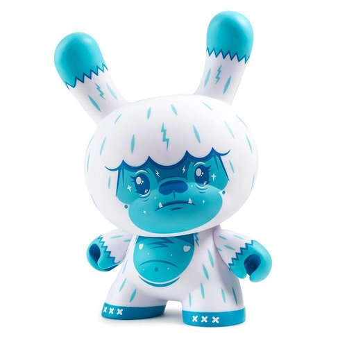 "Kidrobot 8"" Kono the Yeti Dunny by Squink"