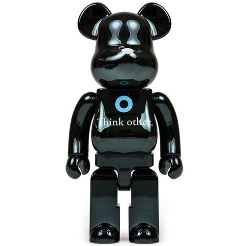 400% Bearbrick - I Am Other (Black) by Pharell Williams