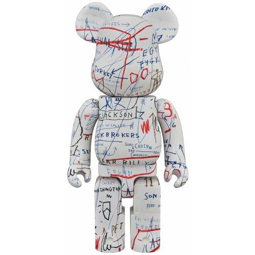 Medicom Toys 1000% Bearbrick - Jean-Michel Basquiat V2