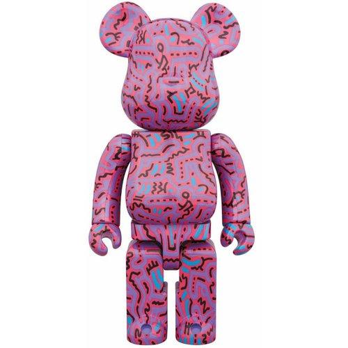 Medicom Toys 1000% Bearbrick - Keith Haring V2