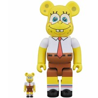 400% & 100% Bearbrick set - Spongebob Squarepants