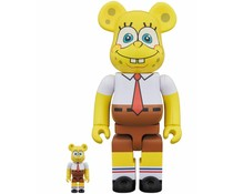 [PO] 400% & 100% Bearbrick set - Spongebob Squarepants