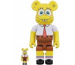 [Pre-Order] 400% & 100% Bearbrick set - Spongebob Squarepants