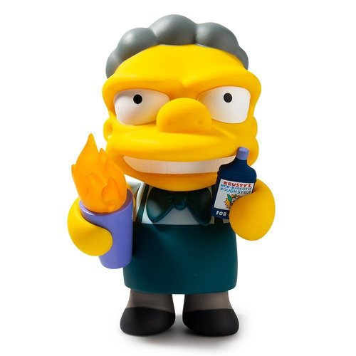 Kidrobot Flaming Moe (The Simpsons) by Matt Groening