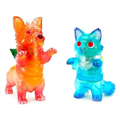 Konatsuya Fluffy Negora (Blue Hawaii) x Corgidora (Mai Tai) Set by Konatsu x Six Twenty Eight