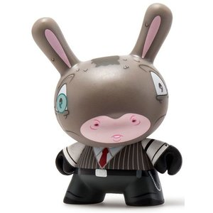 Kidrobot Benjamin 2/24 by Igor Ventura (The Wild Ones  Dunny series)