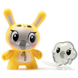 Kidrobot Elephant 2/24 by Linda Panda (The Wild Ones  Dunny series)