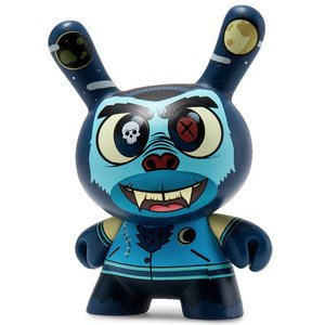 Kidrobot Howlin Hank 2/24 by Josh Divine (The Wild Ones  Dunny series)
