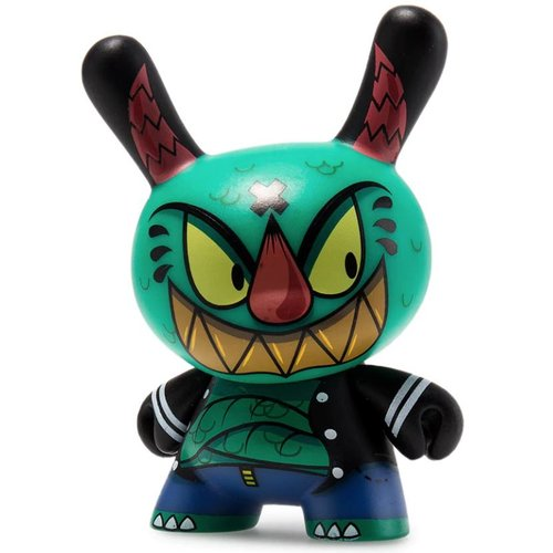 Kidrobot Kaiju 1/24 by Johnny Draco (The Wild Ones  Dunny series)