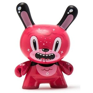 Bubblegum Bear 2/24 by Squink (The Wild Ones  Dunny series)