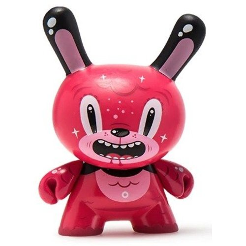 Kidrobot Bubblegum Bear 2/24 by Squink (The Wild Ones  Dunny series)
