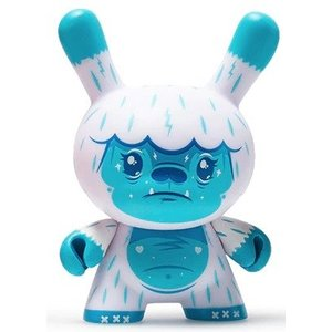 Kidrobot Kono the Yeti 2/24 by Squink (The Wild Ones  Dunny series)