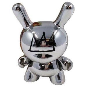 Kidrobot Silver Crown 1/48 - Jean-Michel Basquiat Dunny series