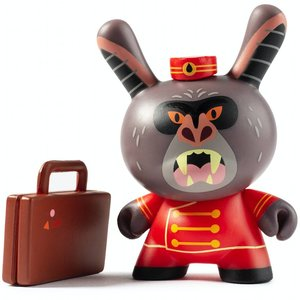 Kidrobot Ahool 2/24 (Christopher Lee) City Cryptid Dunny series