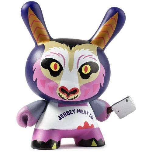 Kidrobot Jersey Devil 2/24 (Christopher Lee) City Cryptid Dunny series