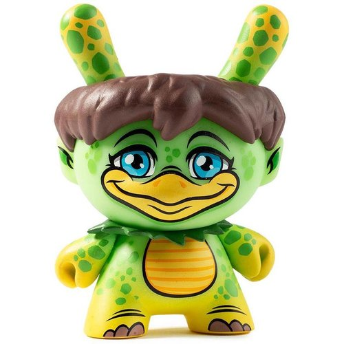 Kidrobot Kappa 2/24 (Scott Tolleson) City Cryptid Dunny series
