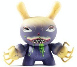 Ningen 1/24 (Charlie Immer) City Cryptid Dunny series