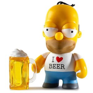 Kidrobot Homer 3/24 - Moe's Tavern series (The Simpsons)