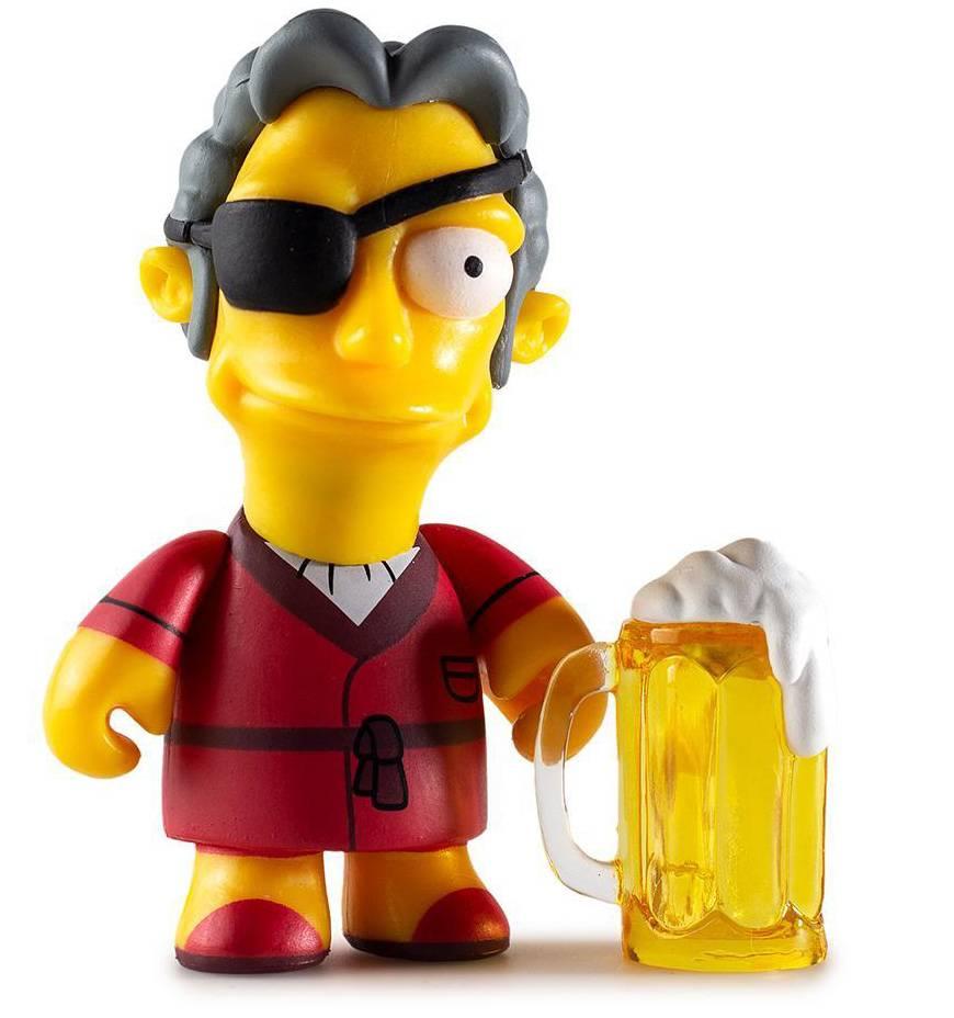 Moe/'s Tavern Mini Series The Simpsons  by Kidrobot Brand New Lenny