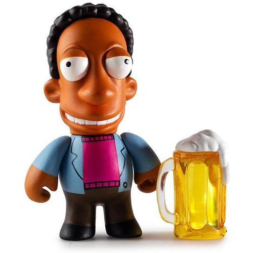 Kidrobot Carl 2/24 - Moe's Tavern series (The Simpsons)