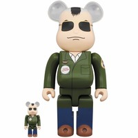 400% & 100% Bearbrick set - Travis Bickle