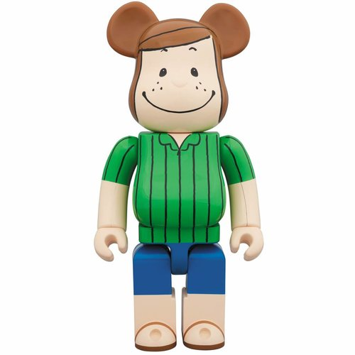 Medicom Toys 400% Bearbrick - Peppermint Patty (Peanuts)