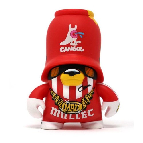 Artoyz Rocksteady Trooper Red (Teddy Troops 2.0 series 2) by Flying Fortress