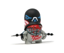 Vampire Bat Trooper Black (Teddy Troops 2.0 series 2) by Flying Fortress