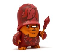 GreenlingTrooper Red (Teddy Troops 2.0 series 2) by Flying Fortress