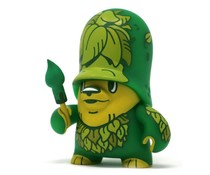 Greenling Trooper Green (Teddy Troops 2.0 series 2) by Flying Fortress