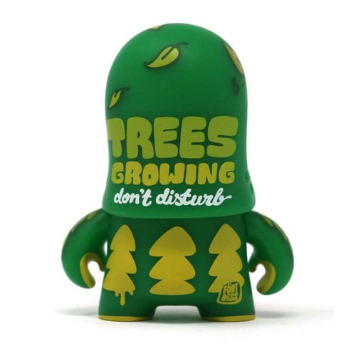 Artoyz Greenling Trooper Green (Teddy Troops 2.0 series 2) by Flying Fortress