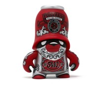 Eau deTrooper Red (Teddy Troops 2.0 series 2) by Flying Fortress