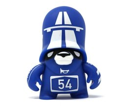Autobahn Trooper Blue (Teddy Troops 2.0 series 2) by Flying Fortress
