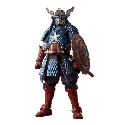 Bandai Samurai Captain America by Tamashii Nations x Marvel