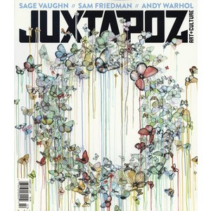 Juxtapoz #169 (February 2015) Sage Vaughn