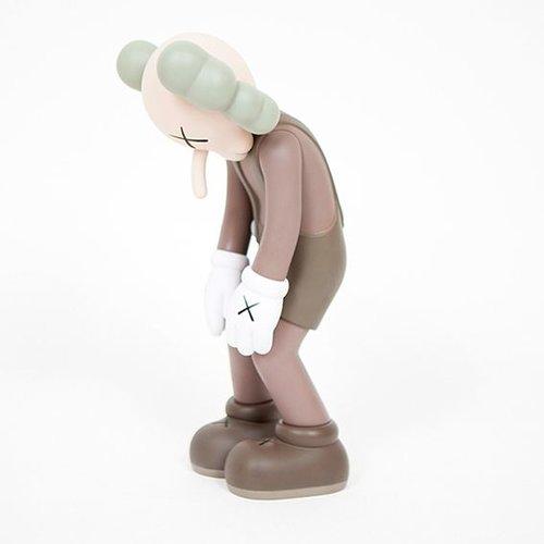 """Medicom Toys 11"""" Small Lie (Brown) by KAWS x Medicom Toys"""